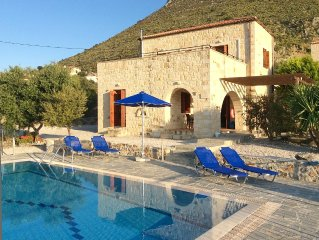 A Stone Villa with Private Pool in a Stunning Location