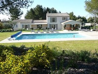 Superb Villa with Heated Pool and Air-Conditioning