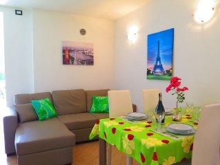Appartamento con giardino con vista lago, fino a 4 persone, Colico Lago di Como
