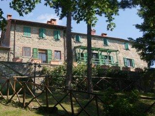 Fattoria di Arsicci, your home in Italy.