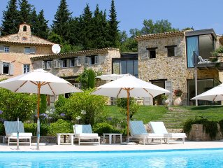 Unique mix of Provencal charm and cutting edge architecture near Valbonne