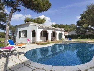 Villa With Private Pool 5 Minutes Walk To The Beach Of Cala Blanca