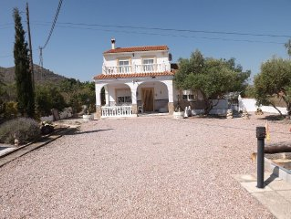Detached Villa With 8 X 4 Metre Private Pool With Stunning Views Over The Valley