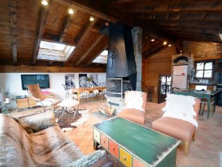 Charming chalet in the heart of the largest ski area in the world LABEL MERIBEL