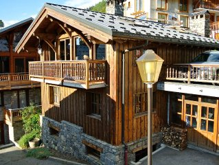 Charming chalet in the heart of the largest ski area in the world LABEL MÉRIBEL