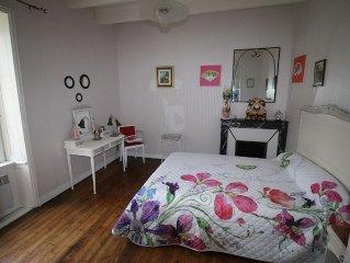 Appartement 4/6 pers dans une maison de caractere avec jardin sur l'ile de GROIX