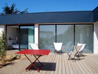 Belle maison d'architecte - Tregastel - Plage Tourony