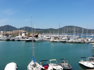 Belle vue mer golfe de St Tropez