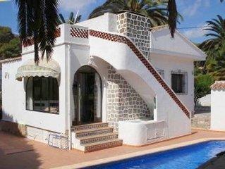Spanish style detached villa, private pool & gard