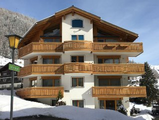 Luxury Ski Chalet Dominic- Penthouse Ski in/out Stunning Views & Luxury Wellness