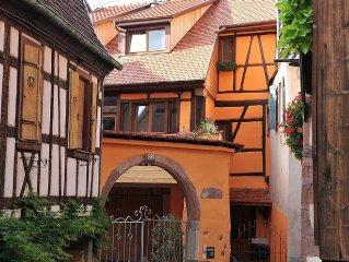 Ribeauville, charmante maison entierement renovee sur la Route des Vins d'Alsace