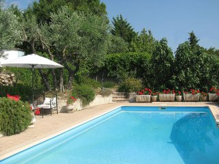Villa with Air Conditioning,  Private Pool And Views Over The Countryside