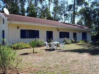 Canedo: maison sur terrain clos   arboré d'un verger et d'eucaliptus
