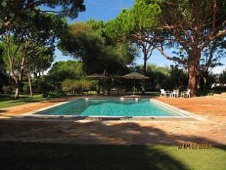 Luxurious Villa with Private Heated Pool and Beautiful Gardens