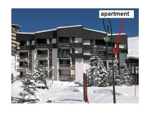 Apartment for 6 right on the slopes (2nd apartment - same owner see 415222)