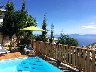 PELION HOMES | Villa THALIA - beautiful villa with pool and panoramic sea view!