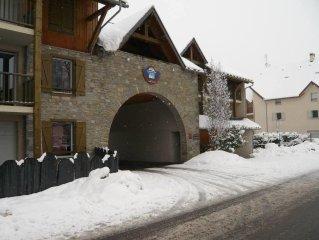Saint Lary Soulan: appartement dans residence 4 etoiles