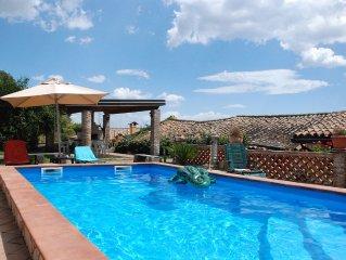 Villa con piscina privata a 4km dal mare. OFFERTA SPECIALE 9-14 LUGLIO!!!!