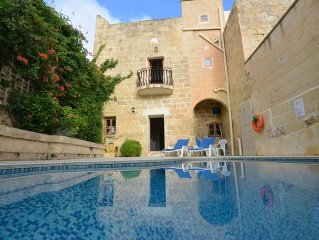 A British owned authentic Gozitan farmhouse, located in a quiet rural hamlet