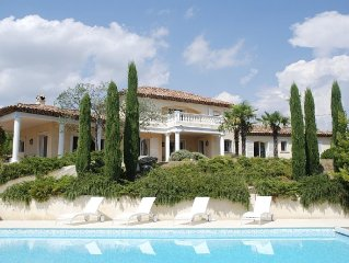 Stunning Villa In The South Of France With Private Pool And Large Gardens
