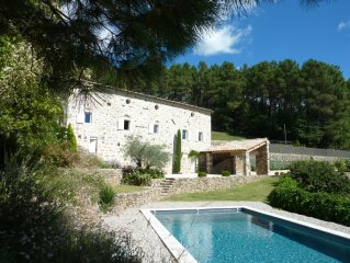 Restored 18thC Stone House With Private Pool And Magnificent Views