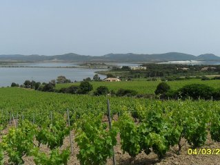 Casa indipendente a 2km  dalla spiaggia di Porto Pino