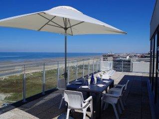 Luxueux penthouse, vue panoramique epoustouflante, terrasse peripherique 170 m2