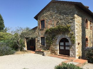 Castle Cottage Near Perugia With Large Pool, Garden And Private Patio