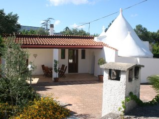 Beautifully restored Trulli with private 10x5 Metre Pool, Air-con and Wi-fi