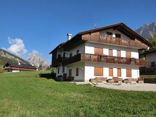 Cortina d'Ampezzo Attico panoramico a due passi dal centro