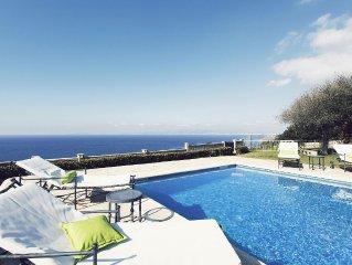 Luxury villa on the cliff