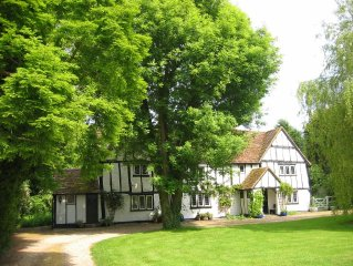 Gostelow House, a grade II listed, 16th century half-timbered house