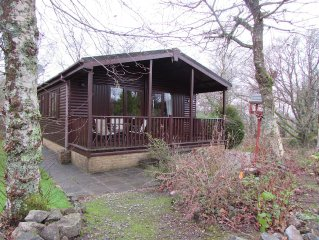 Delightful two bedroomed lodge in a beautiful, woodland location.