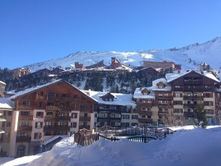 Fantastic 2 bedroomed apartment overlooking slopes