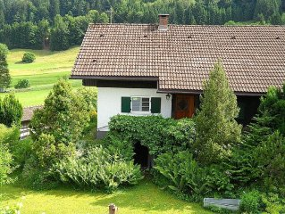 Huttenromantik im Allgauer Holzhaus