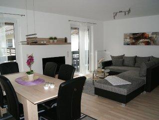 BachBlick 2 schöne moderne 95 qm Familien-Fewo mit 3 SZ und großem Balkon