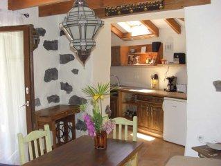 Romantisches, 2013 renoviertes kanarisches Bauernhaus im Valle Gran Rey, WLAN