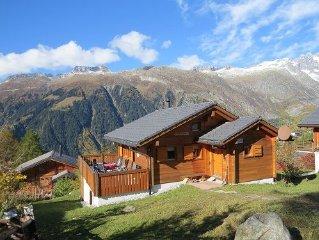 5 Sterne Chalet mit Traumblick, neu in der Vermietung, Toplage, Ski-in-Ski-out