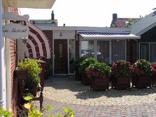 Ferienwohnung Egmond aan Zee mit Terrasse, 1 Minute von Nordseestrand und Dunen