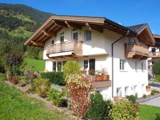 55m2 grosse Ferienwohnung mit Terrasse und Garten und separatem Hauseingang