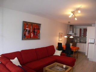 Modern apartment with swimming pool, sauna and Wifi in the health resort Oberma
