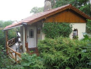 gemütliches Ferienhaus, idyllisch und zentrumsnah am Stadtwald von Quedlinburg
