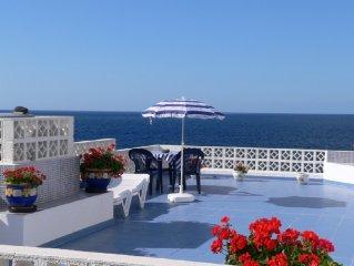 El Remo: Traumhaus direkt am Atlantik mit 100 qm Dachterrasse