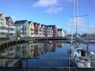 Yachthafendomizil - Sonnige, ruhig gelegene Wohnung mit grossem Ausblick