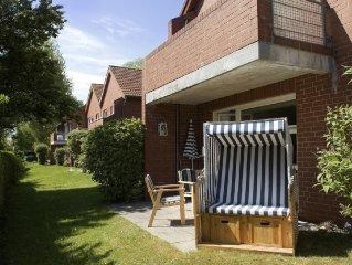 Komfortabel ausgestattete Ferienwohnung in Strandnähe für 2-4 Personen