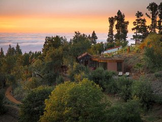 Absolute quiet and secluded location above the clouds, altkanarisches winery, p