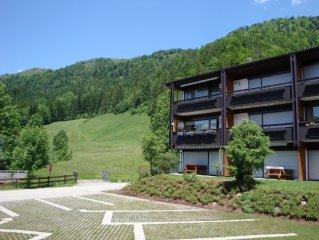 Luxus 6 pers. Appartement mit Gästezimmer im nahe von Golfplatz und See