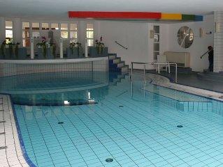 3 Zimmer Ferienwohnung direkt am Meer Dorum Nordsee VITAMAR Sauna Schwimmbad