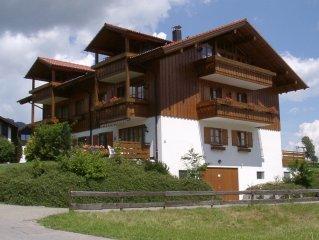 Obermaiselstein: Luxuriose ****Sterne-Wohnung, Sauna, Sommer 7 Bergbahnen inkl.
