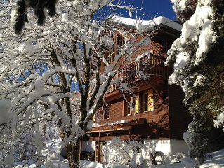 Romantic chalet with piano in the most beautyful